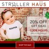 20% off end of the Season at Stroller