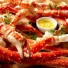 2 lbs Giant Red King Crab Legs - Fully cooked - Ready to Enjoy