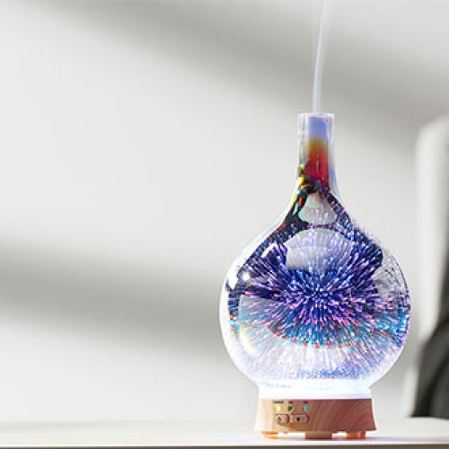 3-D Ultrasonic Aromatherapy Diffuser