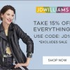JD Williams Evergreen 15% OFF