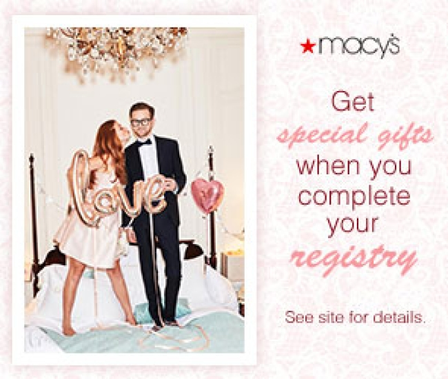 Macy S Wedding Gift Registry Massmall