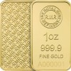 RMR 1 oz Gold Bar Minted