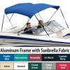 Shademate Sunbrella 3-Bow Bimini Top