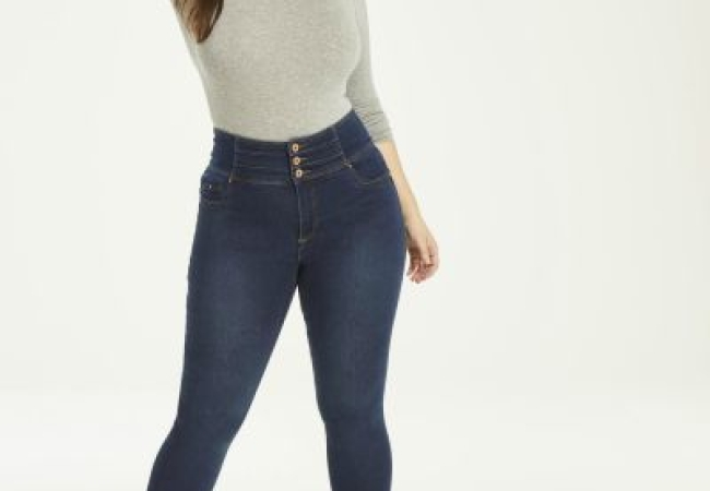 EXTRA HIGH WAIST SKINNY JEANS