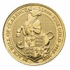 The Queen's Beasts 2018 – Black Bull – 1/4 oz Gold Bullion Coin